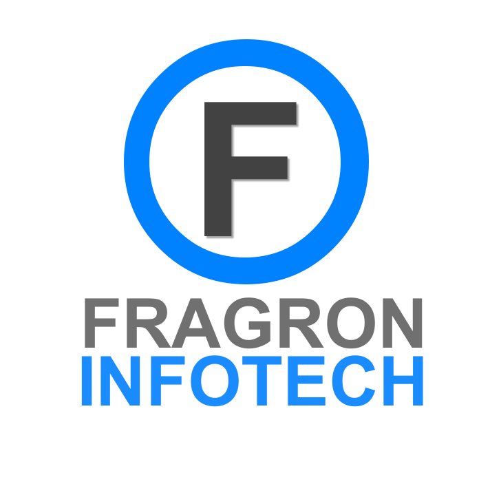 Fragron Infotech Logo Website Android App Designing Company in India