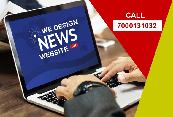 News Website Designing in Madhya Pradesh, Uttar Pradesh, Bihar, Telangana,  Advertisement Banners