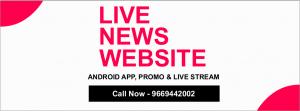 Live News Website Designing Company