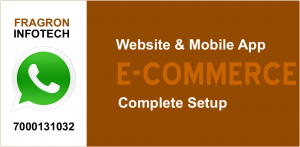 E-Commerce Website & Android App Designing Services - Fragron Infotech