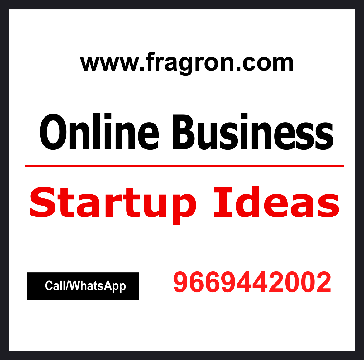 Top 10 Business startup ideas.