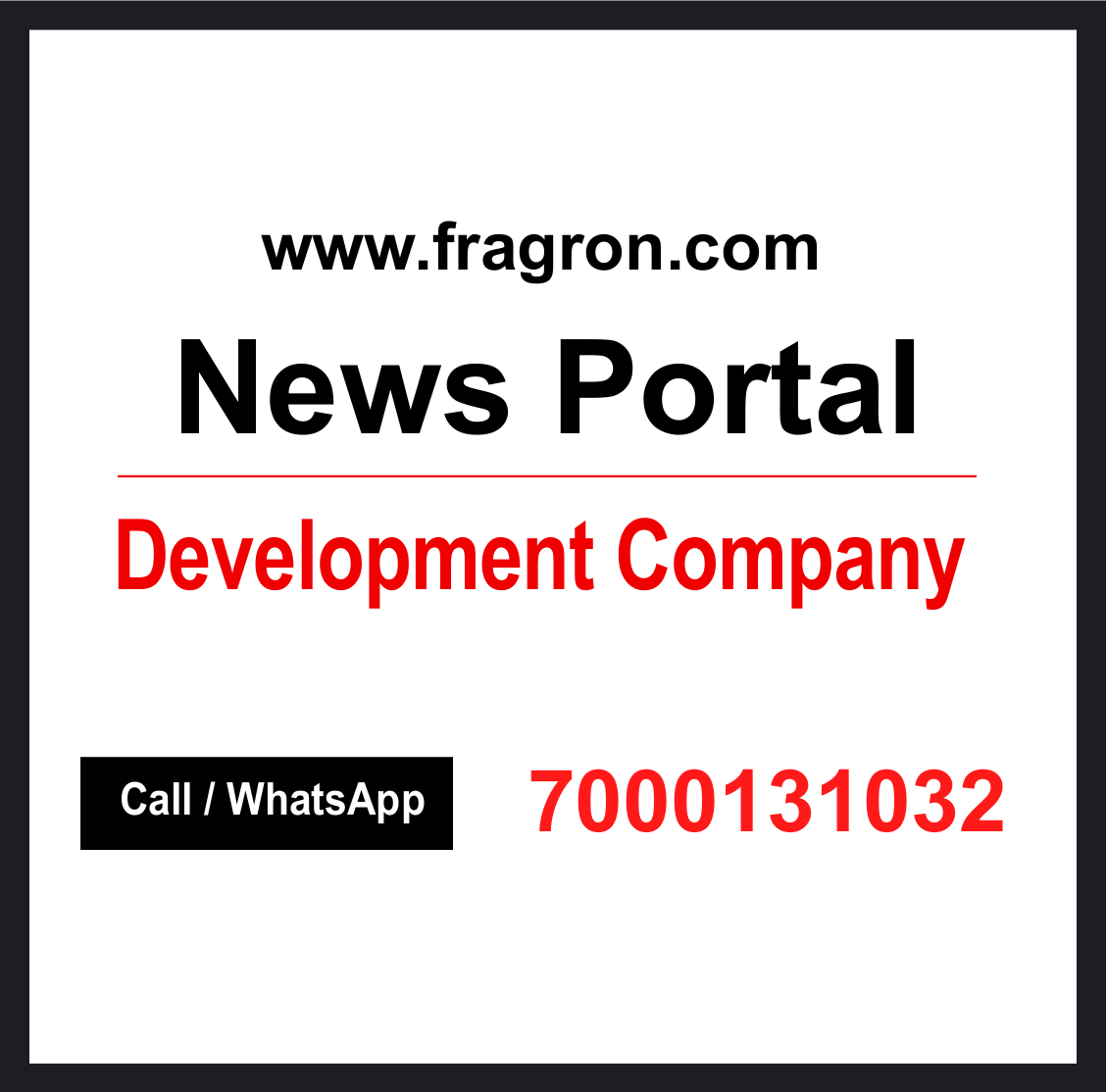 News Portal Development Company.