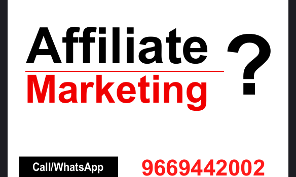 What is Affiliate Marketing ?