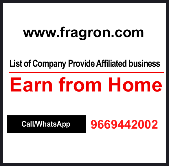 List of Company Provide Affiliated Business, Earn from Home.