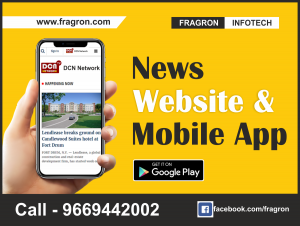 News Website & Android Mobile Applications By Fragron Infotech