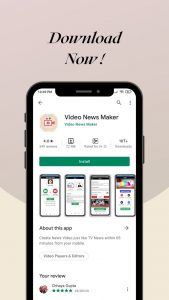 Download - Video News Maker Android App