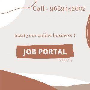 Start Job Portal Website & Android Mobile Application