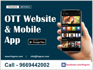 OTT Website & Android Mobile App Development